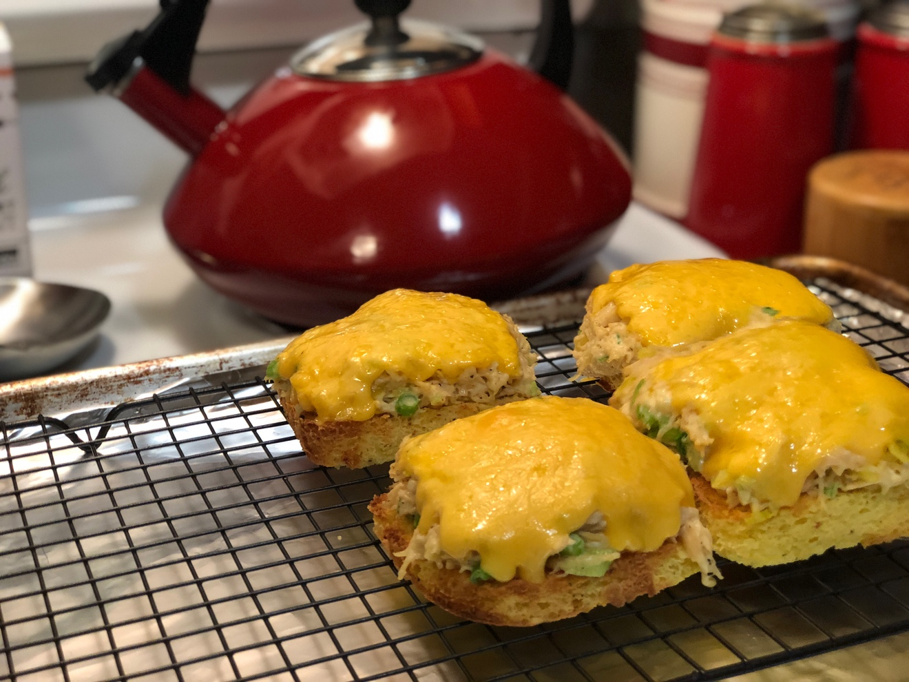 90 Second Bread Chicken Melt Keto Friendly Delicious Versatile Cjsketokitchen Com