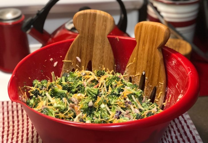 Broccoli and Bacon Salad