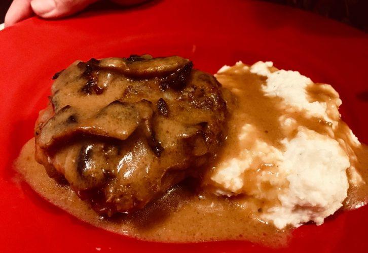 Keto Salisbury Steak and Keto Gravy
