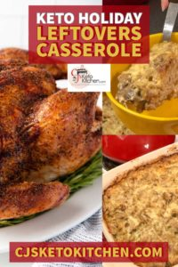 Keto Holiday Leftovers Pinterest Pin