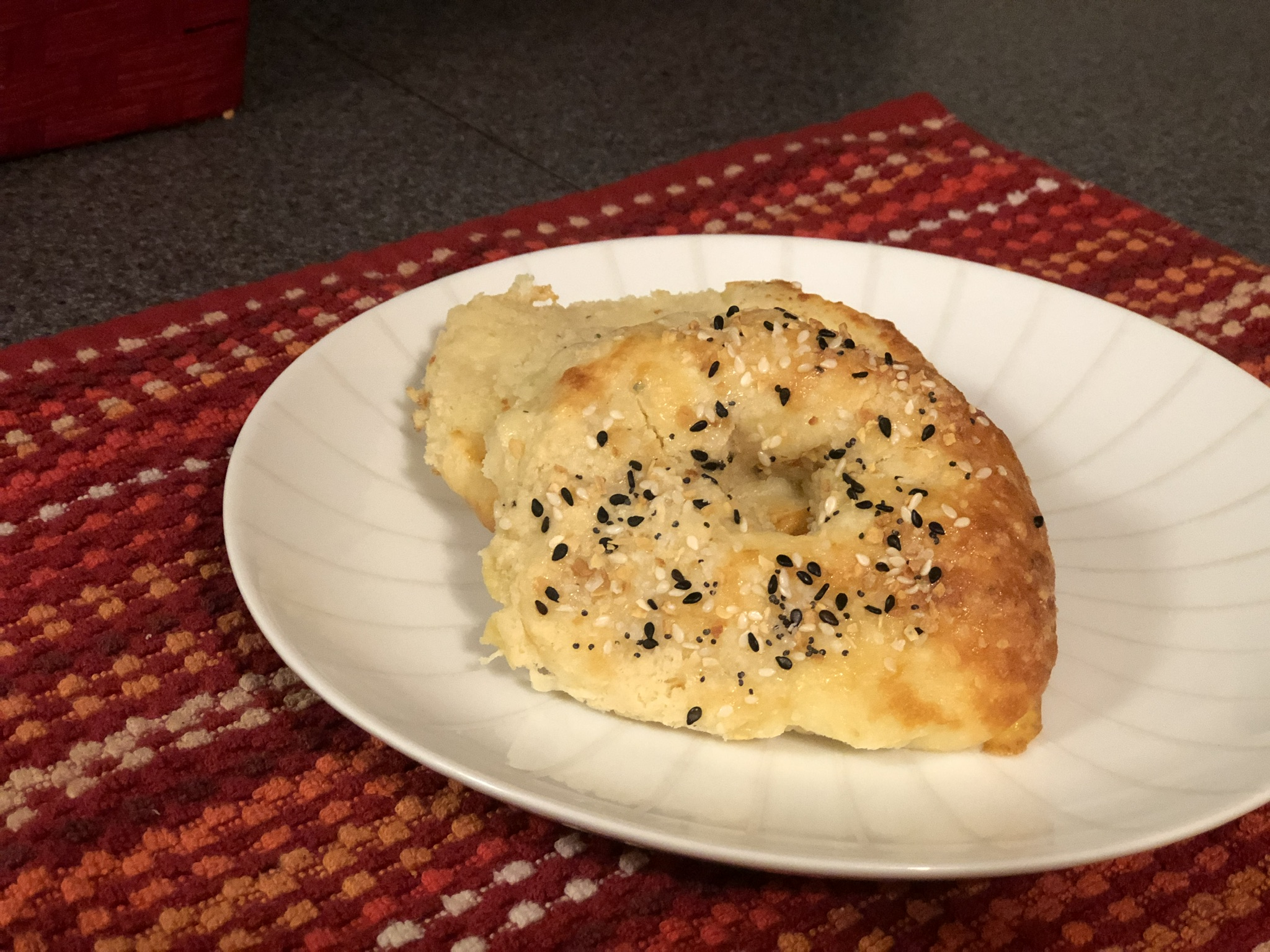 Keto Everything Bagels