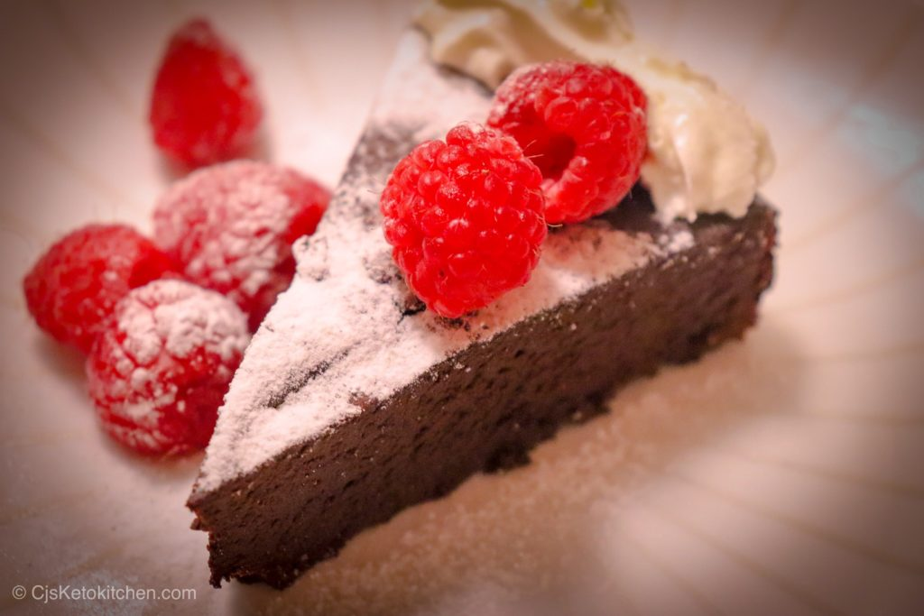 Low Carb Chocolate Torte