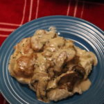 Pan Seared Chicken Thighs with Keto Mushroom Gravy