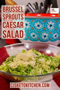 cjsketokitchen brussel sprouts Caesar salad