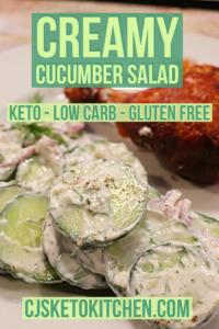 Creamy Cucumber Dill Salad Creamy Cucumber Dill Salad