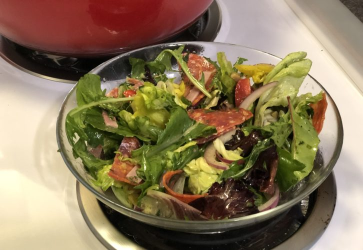Low Carb Keto Italian Sub Salad
