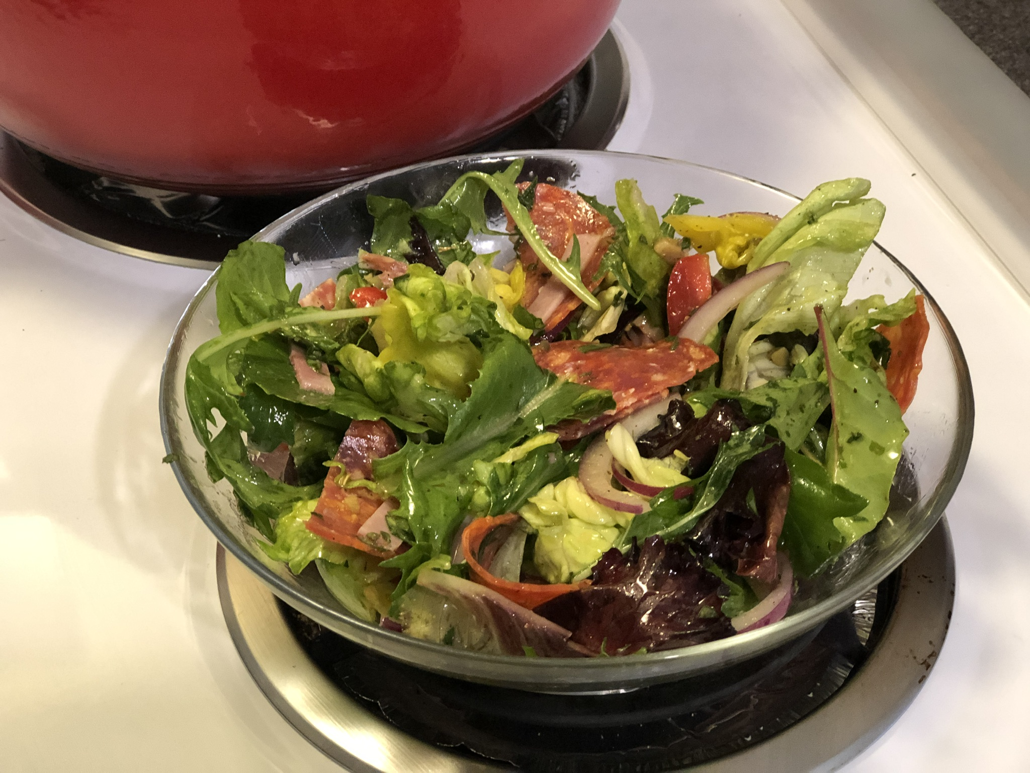 Keto Low Carb Italian Sub Salad