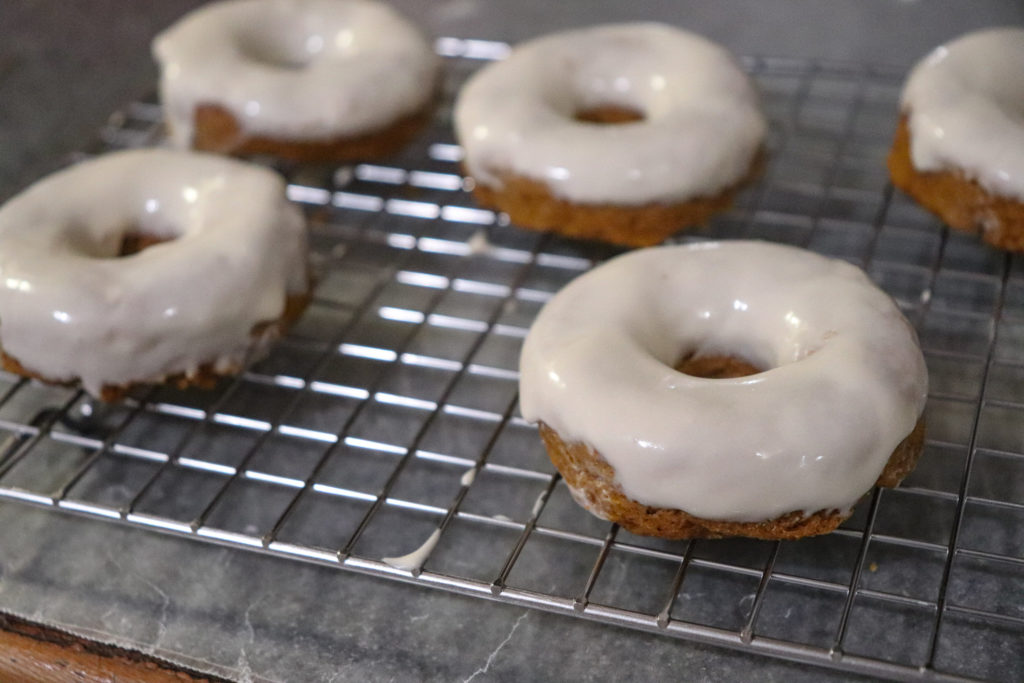 Keto Pumpkin Donuts