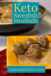 Keto Swedish Meatball