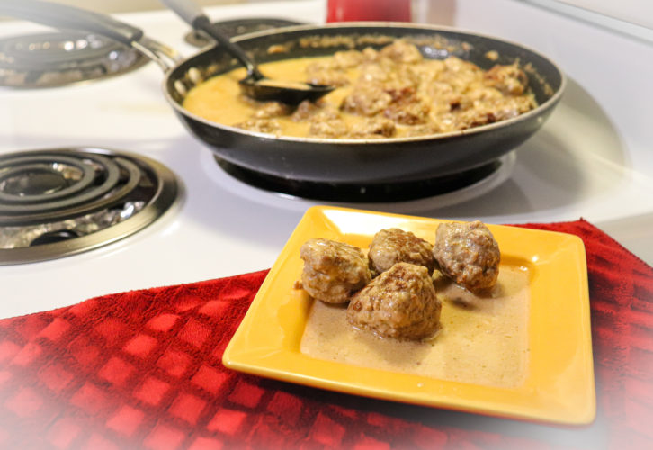 Keto Swedish Meatballs