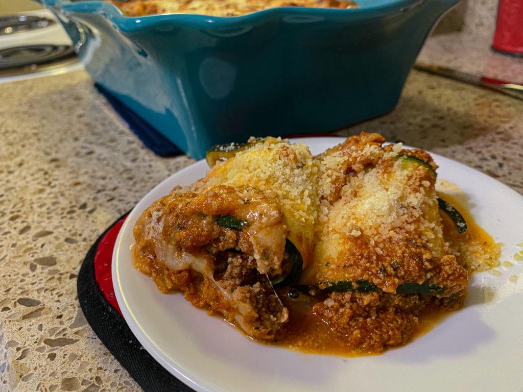 Keto Lasagna Roll Ups