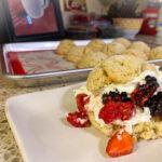 Keto Summer Berry Shortcake