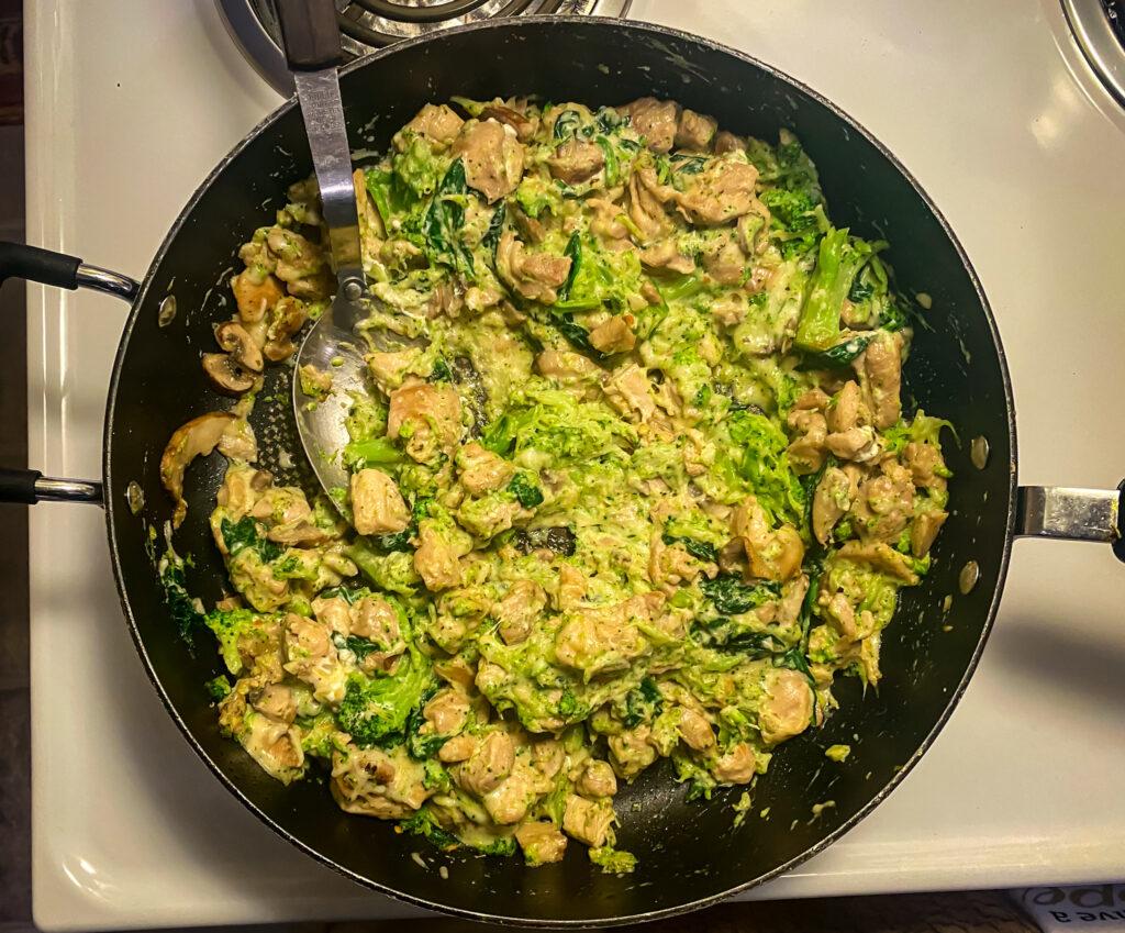 Keto One Pan Garlic Chicken