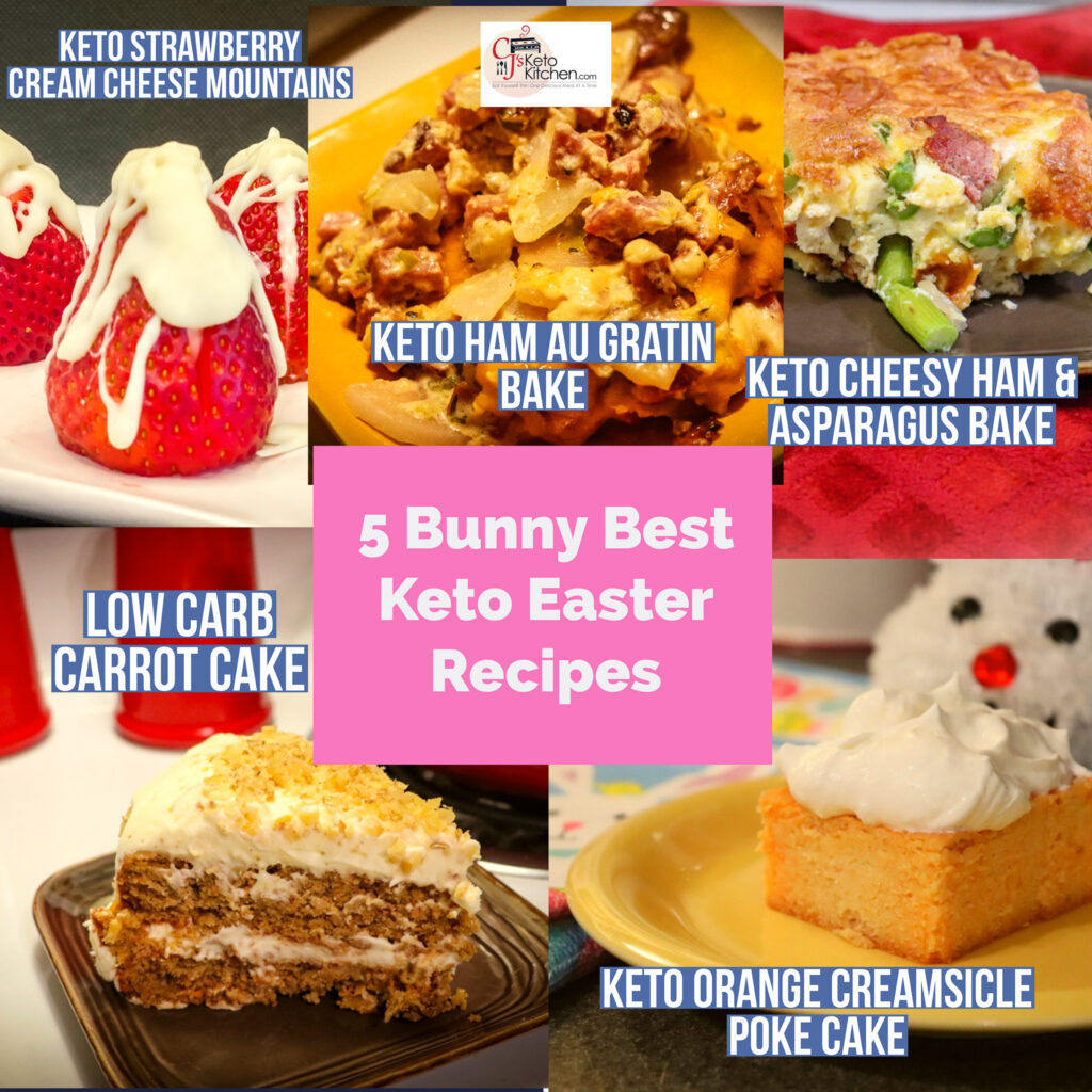 5 Easter Keto Recipes