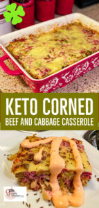 cabbage and corned beef casserole