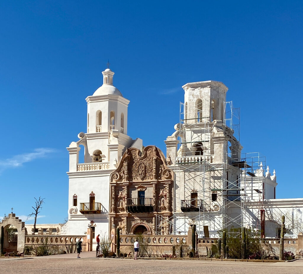 The San Xavier De Bac mission