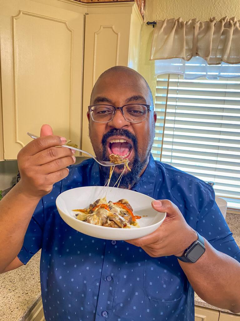 CJ felt this casserole was a winner!
